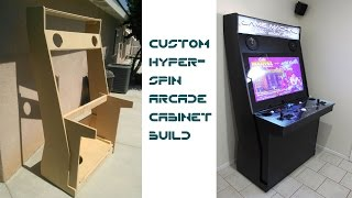 Download Custom Hyperspin Arcade Cabinet UPDATED WITH LINKS TO PLANS Video