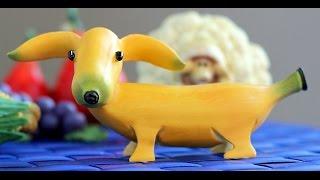 Download How to Make Banana Decoration   Banana Art   Fruit Carving Banana Garnishes Video