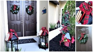 Download NEW! | Budget Friendly Christmas Front Porch Entryway Decor Ideas Video