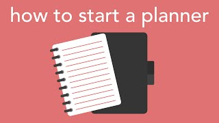 Download how to start a planner Video