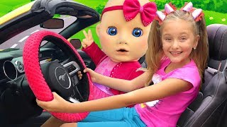 Download We are in The Car Song from Sasha and Baby | Nursery Rhymes & Kids Song Video
