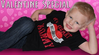 Download Heart Shaped Pizza is the BEST!! Family Fun Pack 24 Hour Valentine Special Video
