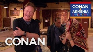 Download Conan Buys Sona's Family A Rug - CONAN on TBS Video