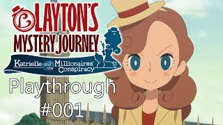Download Layton's Mystery Journey 1 - Playthrough #001 - Spell a K Video