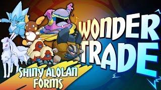 Download ″SHINY ALOLAN FORM POKEMON!″ - Wonder Trade Friday #WTF - Pokémon Sun & Moon Livestream w/ Hydros Video