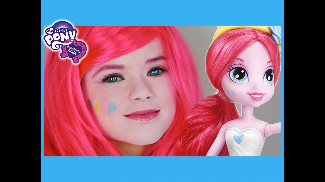Stream my little pony pinkie pie makeup tutorial equestria girls my little pony pinkie pie makeup tutorial equestria girls doll cosplay kittiesmama baditri Images