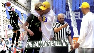 Download LaMelo Starts Off HOT + Tries Dunking While Refs Break Up ″Fight″ - Big Ballers Go UNDEFEATED! Video