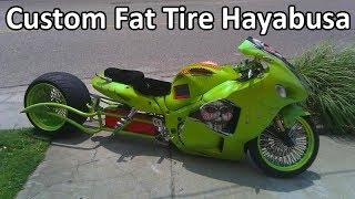 Suzuki gsx1300r hayabusa streetfighter, wide tyre 330 Free Download