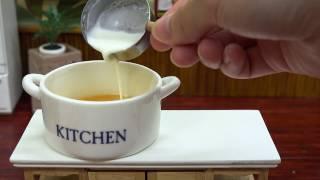 Download Mini Food Pudding Tart 食べれるミニチュア プリンタルト Video