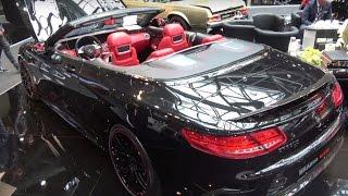 Download [4k] Brabus 850 S63 Convertible 6,0 liter V8 biturbo 850 HP at Top Marques Monaco 2017 Video