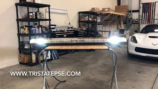 Download For Sale: 50″ Whelen Justice WeCan Light Bar (used) Video