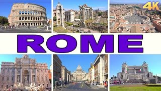 Download ROME - ITALY , BEST OF ROME 4K Video