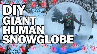 Download DIY Giant Human Snow Globe!!! - Man Vs Madness Video