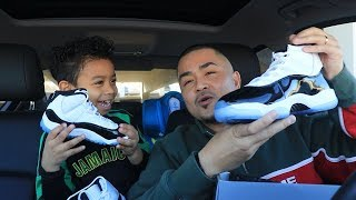 Download UNBOXING Air Jordan 11 XI CONCORD + WEINERSNITCHEL MUKBANG with NEPHEW | PK Vlog 39 Video