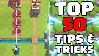 Download Top 50 Tips & Tricks in Clash Royale | Ultimate Clash Royale Pro Guide Video
