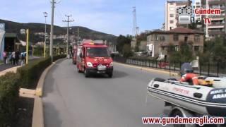 Download İtfaiye'nin geçit töreni paniğe neden oldu - Ereğli Gündem Gazetesi Video