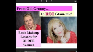 Download Old Granny to Hot Glammie! Basic Makeup Lessons * Step by Step ! Drugstore Products Video