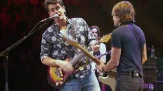 Download John Mayer with Keith Urban - Don't Let Me down Video