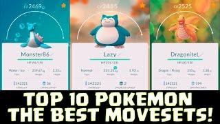 Download TOP 10 POKEMON & THE BEST MOVESETS ( Attack )!   Pokemon GO   NEW POKEMON EVOLUTION Video