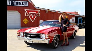 Download 1971 Chevy Chevelle SS LS5 Convertible Video