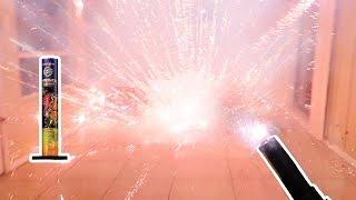 Download Lighting Fireworks Inside My House! Video