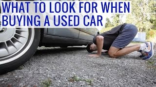 Download What to look for when buying a used car - Tips, Issues, Test drive, Precautions Video