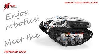 Download Meet the Ripsaw EV3 robot! Video
