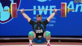 Download Men's 94 kg A Session Snatch - 2017 IWF Weightlifting World Championships (WWC) Video