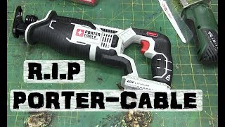 Download BOLTR: Porter-Cable Sawsall   ZOMBIE BRANDS Video