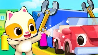 Download Garbage Trucks for Children | Doctor Cartoon, Fire Truck | Nursery Rhymes | Kids Songs | BabyBus Video
