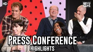 Download The Shape of Water Press Conference Highlights | Guillermo del Toro, Sally Hawkins, Michale Shannon Video