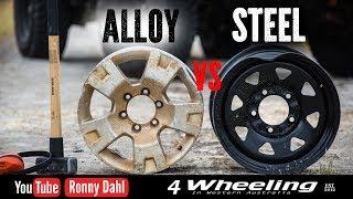 Download STEEL vs ALLOY rims Off-road Wheels Video