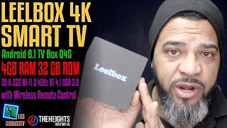 Download Leebox 4K Android TV Box 8.1 💻 : LGTV Review Video