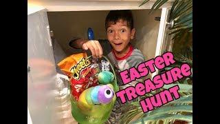Download HUGE EASTER EGG TREASURE HUNT | Hundreds of EGGS & Hidden Baskets Video
