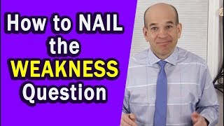Download What Are Your Weaknesses? Here's How to Answer... Video