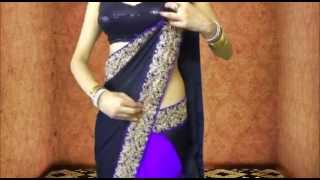 Download Sexy Bollywood Saree Drape:How To Wear Saree Like Ketrina Kaif Video