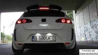 Download Revo Tuning Seat Leon Cupra R (FR) 512HP Sebring+Borla Exhaust Sound | Brutal Ride | Launchcontrol | Video