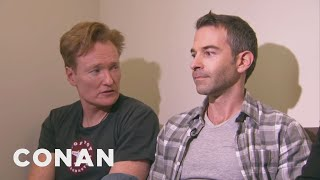 Download Conan Forces Jordan Schlansky To Clean His Filthy Office Video
