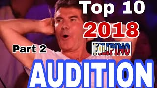 Download TOP 10 FILIPINO AUDITION PART 2 Video