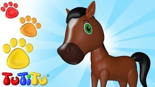 Download Cavalo E Outros Animais - Aprenda nomes de animais com o TuTiTu Video