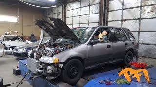 Download Blasting AWD Turbo Civic WAGO! Metigulous Build Video