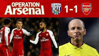 Download WEST BROM 1-1 ARSENAL - IT'S ALL ABOUT MIKE DEAN!!! Video