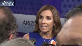 Download VERIFY: What's the truth in the claims made in the Arizona Senate debate? Video