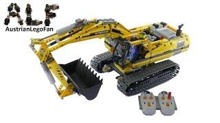 Download Lego Technic 8043 Motorized Excavator - Lego Speed Build Review Video
