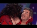 Top List Got Talent 2017 -  SHOCKING! Women Seduces And KISSES Simon!!!
