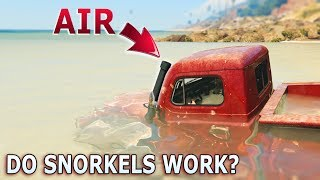Download GTA V - Do car Snorkels Work? Video