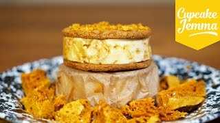 Download How to Make a Ginger Honeycomb Ice Cream Sandwich | Cupcake Jemma Video