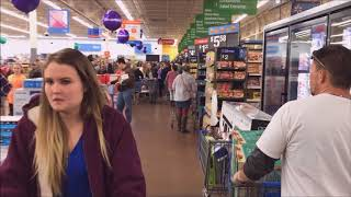 Download Walmart #1937 Thanksgiving Black Friday 2017 Coshocton, Ohio Video