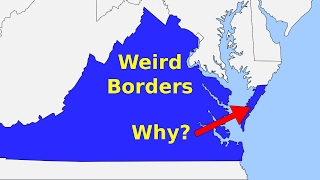 Download Weird Borders: State Borders of the United States of America Video