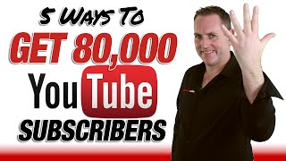 Download Get YouTube Subscribers - How To Get 80000 YouTube Subscriptions Video